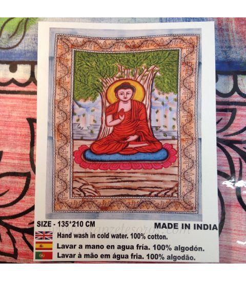 Tapiz de algodón con Buda.