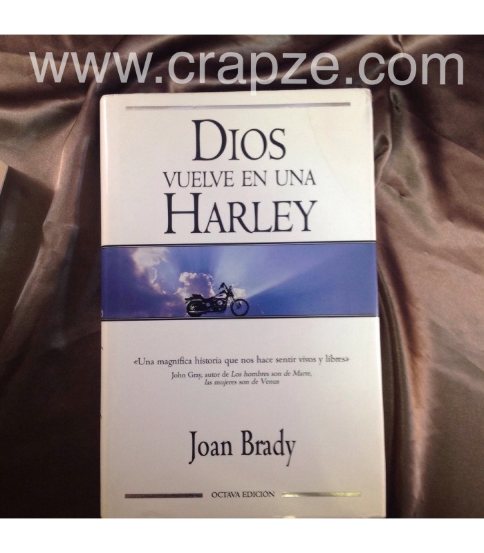 DIOS VUELVE EN UNA HARLEY by JOAN BRADY, SOFTCOVER (B17)