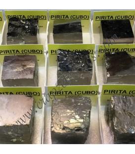 Pirita Cubo en cajita individual de coleccion