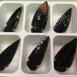 Flecha de Obsidiana como las de antiguas culturas de América