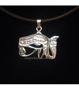 Ojo de Horus en colgante de plata