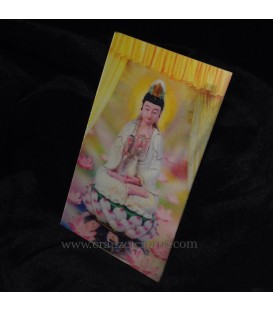 Holograma de Kuan Yin diosa de amor y perdón