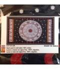 Zodíaco en Tapiz de algodon 135x210 cm