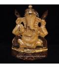 Ganesha o Ganesh en madera de India de 14 cm.
