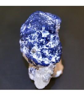 Lazulita sobre cuarzo de Pakistán