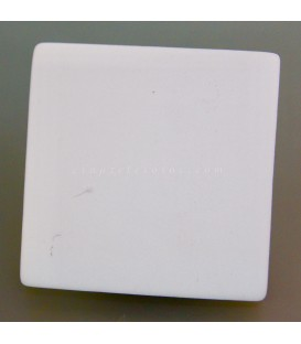 Placa de cerámica para rayado y reconocimiento de minerales