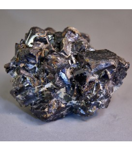 Esfalerita cristalizada de Madan Bulgaria