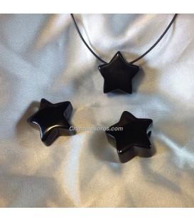 Onix en colgante forma estrella perforada