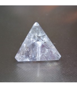 Tetraedro de Cuarzo símbolo del fuego