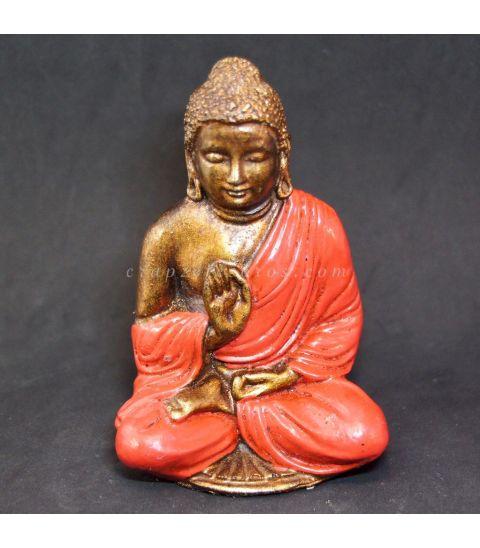 Buda de resina rojo de Indonesia