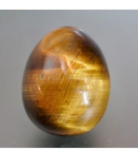 Huevo de Ojo de tigre con peana