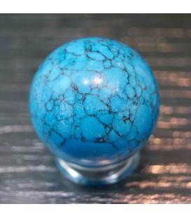 Esfera de Magnesita azul de India