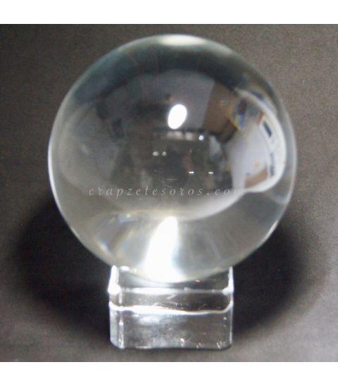 Esfera de Cristal de 80 mm con peana