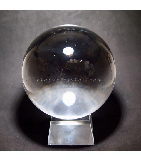 Esfera de Cristal de 120 mm con peana
