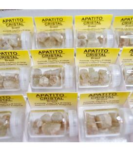 Apatito cristal en cajíta de colección