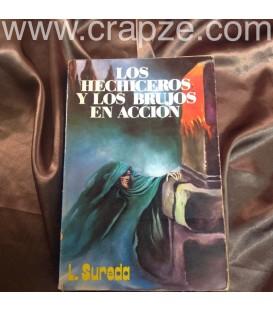 Los hechiceros y los brujos en acción. Obra de L. Sureda