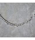 Cadena de plata de 50 cm.