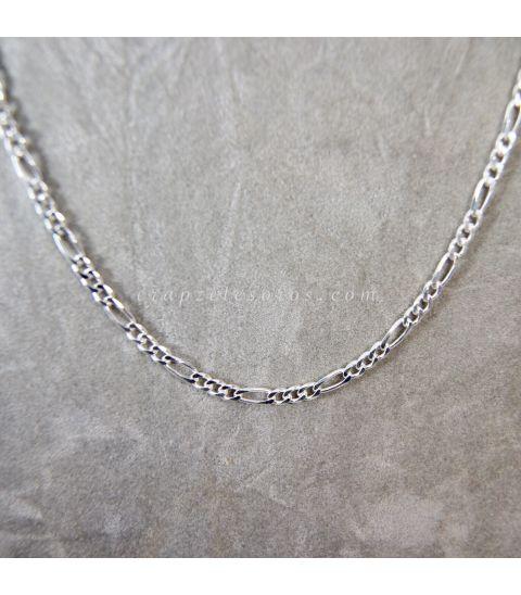 Cadena de plata de 70 cm