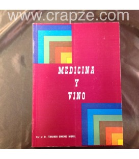 Medicina y Vino. Obra del Dr. Fernando Jiménez