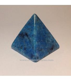 Pirámide de Apatito azul