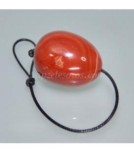 Huevo de Carneola para masaje interno