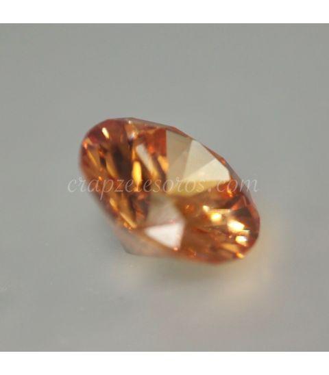 Circonita extra AAAAA color naranja talla brillante