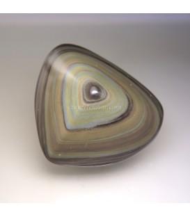 Corazón espectacular de Obsidiana arcoiris
