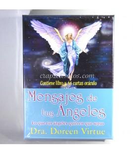 Mensajes de tus Angeles. Cartas oraculo. Doreen Virtue