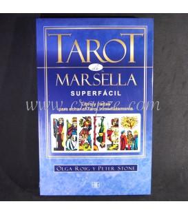 Tarot de Marsella. Superfácil. Libro y Cartas.