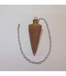 Péndulo de madera de Olivo de Córdoba