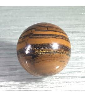 Esfera de Ojo de hierro con peana