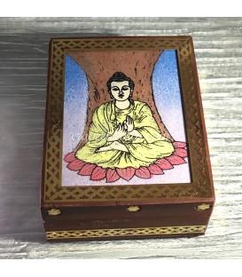 Caja artesanal en madera de Tuya