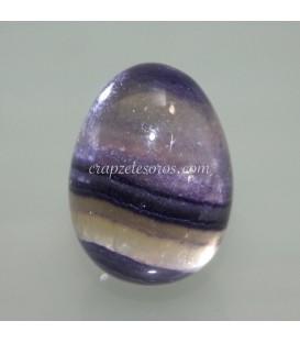 Huevo de Fluorita arcoiris