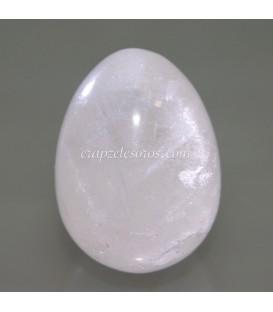 Huevo de Cuarzo blanco
