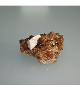 Drusa de Cuarzo citrino natural