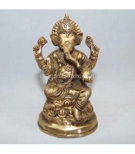 Recia Ganesha de latón mal llamado bronce