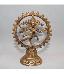 Nataraj o Siva danzando, signo de la creación sobre la destrucción