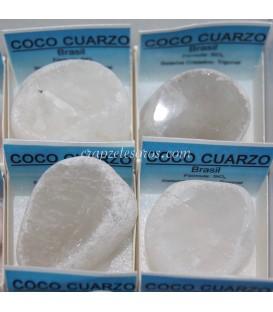 Cuarzo visión o coco de cuarzo en cajita individual