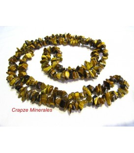 Collar Ojo de tigre chip