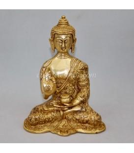 Buda protección y fortuna de Cobre y Zinc