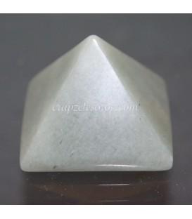 Pirámide de Aventurina verde