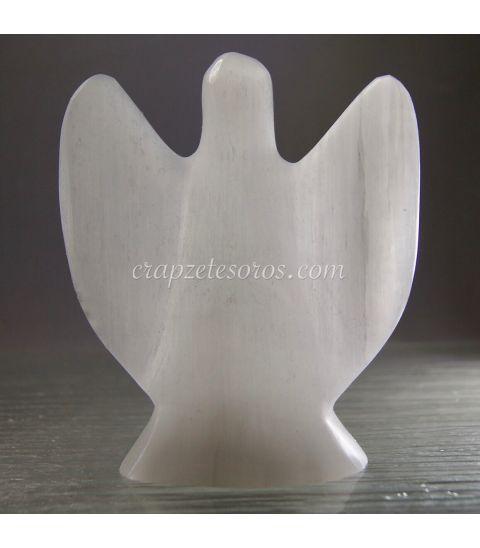 Halografía de coro de ángeles con Jesucristo y María