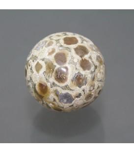 Riolita de Australia talla esfera, el símbolo de la perfección