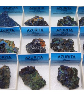 Azurita cristalizada de Marruecos.