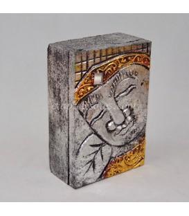 Caja madera de Buda