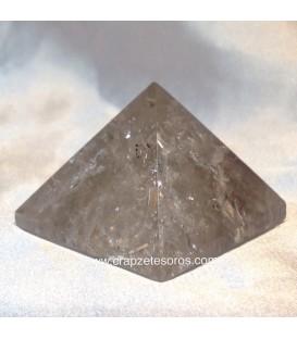 Pirámide de Cuarzo ahumado de Brasil