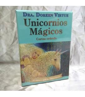 Unicornios magicos. Cartas oraculo y libro. Doreen Virtue
