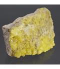 Matriz de Cristales de Azufre de Bolivia