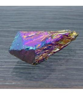 Drusa punta de Cuarzo Titanium