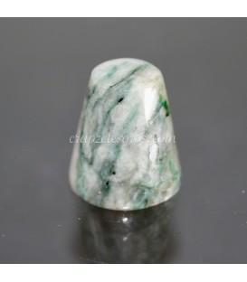 Llavero Cuarzo Cristal de roca rodado